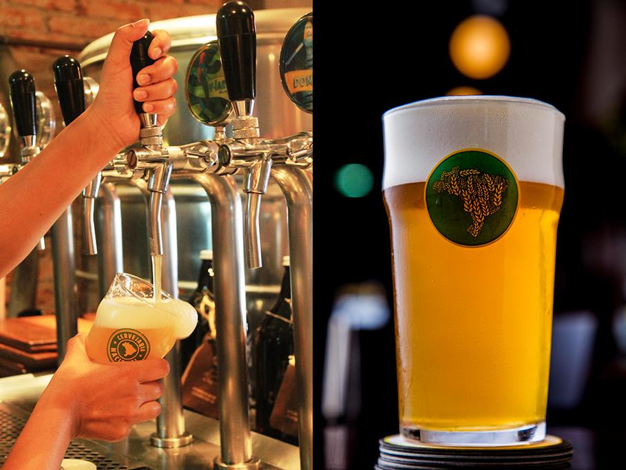 Nova cerveja tem 5,6% de teor alcoólico, amargor de 58 IBUs (Fotos: Divulgação)