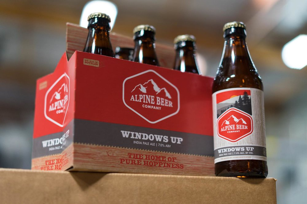 A Alpine Beer Co produz seus rótulos na Green Flash Brewing, em San Diego (Foto: Divulgação)