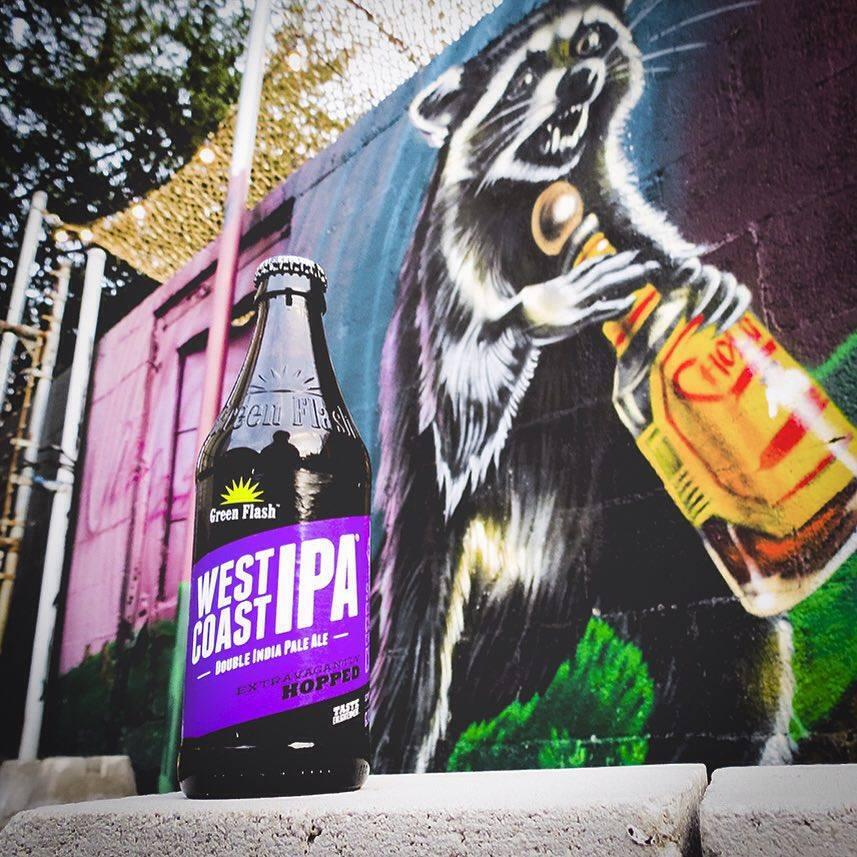 A Green Flash West Coast IPA é uma das clássicas da cervejaria californiana (Foto: Divulgação)