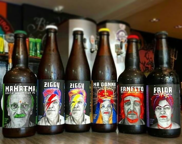 """Linha da Zapata, autodefinida como """"cervejaria rural"""" (Foto: Divulgação)"""
