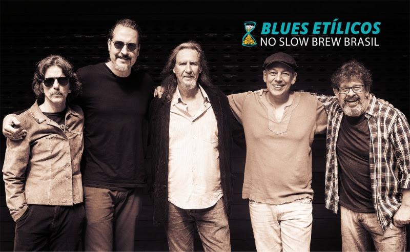 Banda Blues Etílicos é uma referência no gênero musical no Brasil (Foto: Divulgação)