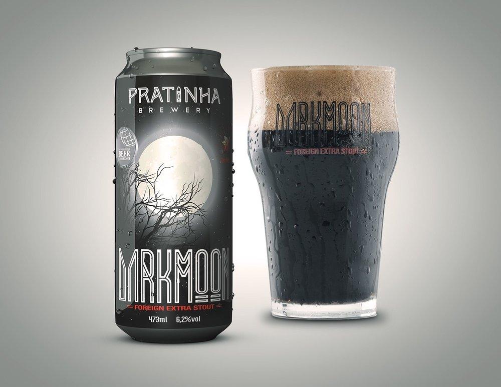 A Darkmoon conquistou prata no International Beer Challenge 2017 (Foto: Divulgação)