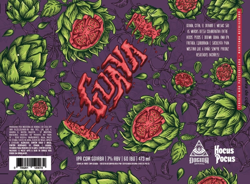 Guava é uma colaborativo com a cervejaria carioca Hocus Pocus (Foto: Divulgação)