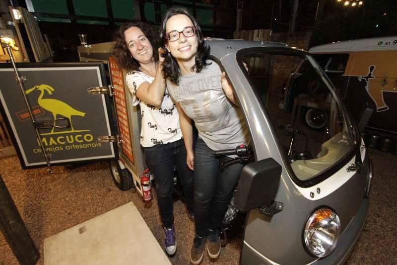Michelle de Lara Ferraz e Fernanda Nascimento são as fundadoras da Macuco (Foto: Divulgação)