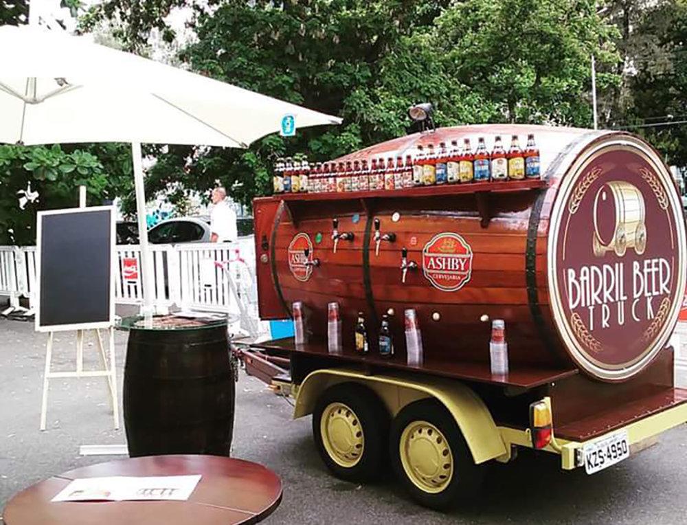 Barril Beer Truck é uma das atrações cervejeiras do evento em Campo Grande, no Rio (Foto: Divulgação)