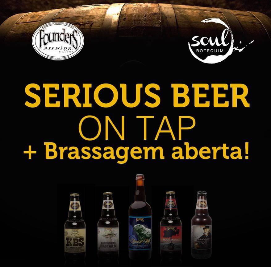 Evento concentra cinco cervejas da marca americana envelhecidas em barril (Foto: Divulgação)