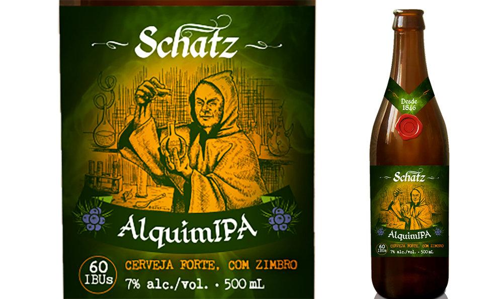 A base da bebida alemã usada como referência é o zimbro, que agora está na Schatz AlquimIPA (Foto: Divulgação)