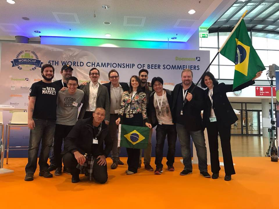 A delegação do Brasil no Mundial de Sommeliers (Foto: Divulgação)