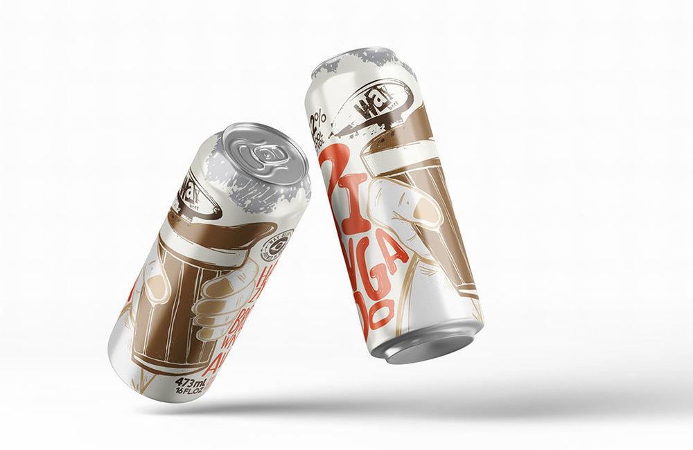 Cerveja do estilo Hazy Brown Ale tem uma composição curiosa e pode ser servida com uma experiência inusitada (Foto: Divulgação)