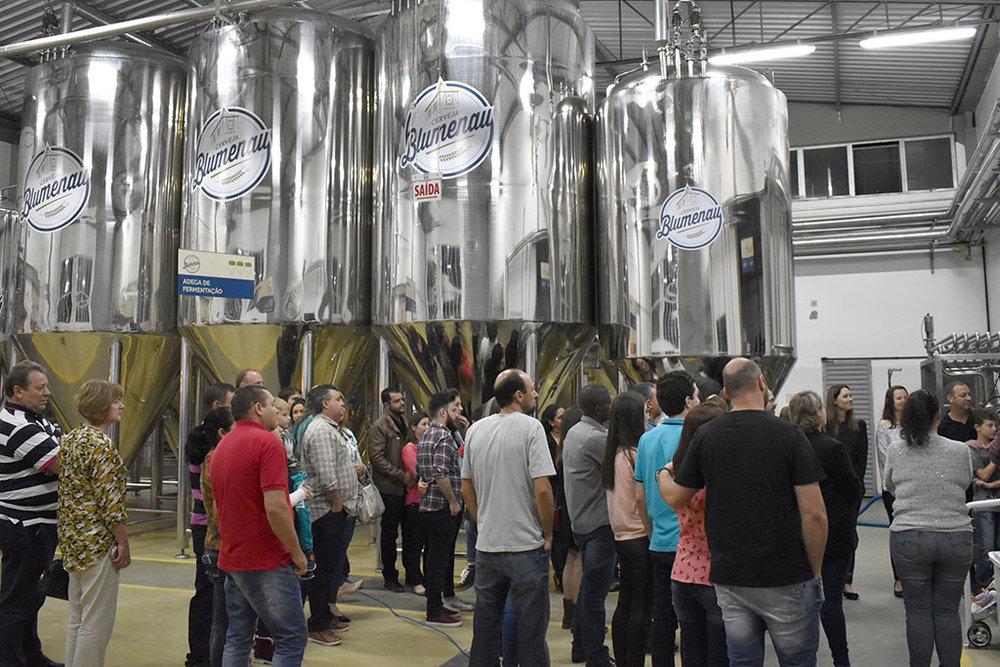 Cerveja Blumenau é a segunda parada no roteiro (Foto: Divulgação)