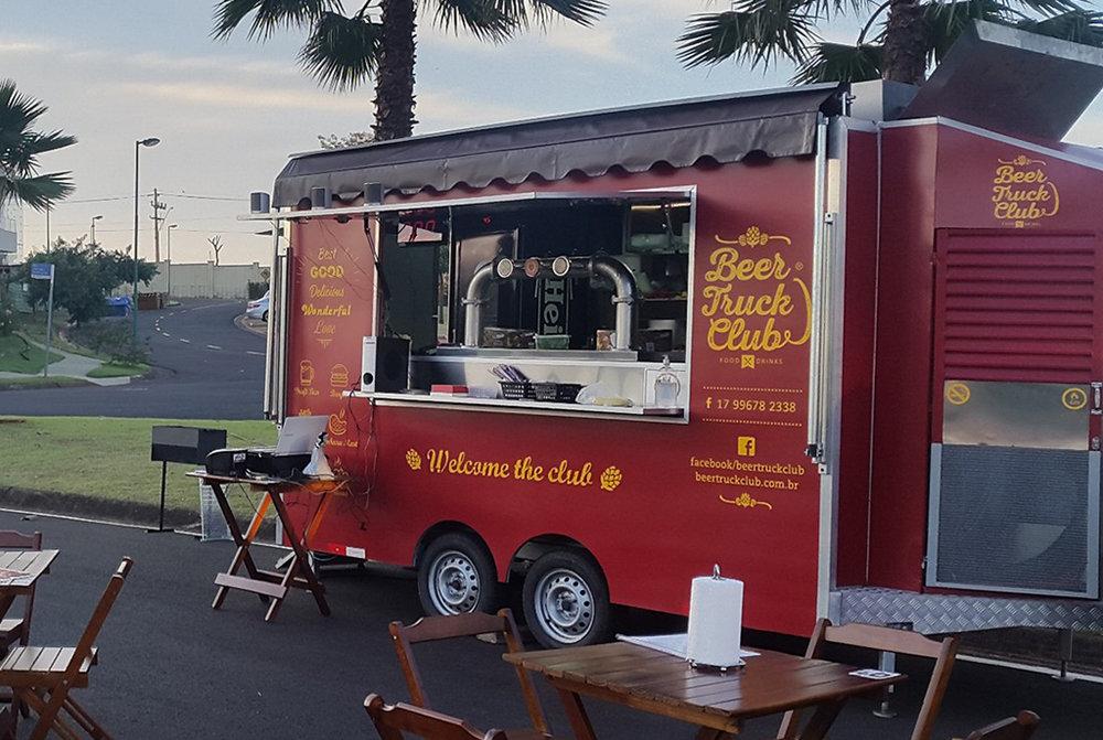 Food e beer trucks se disseminaram por eventos no Brasil (Foto: Divulgação)