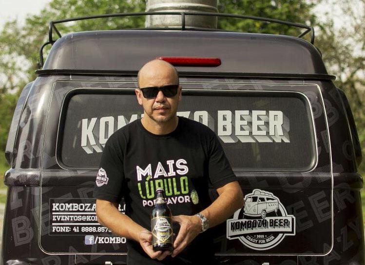 Komboza Beer carrega a paixão de Marcio Ferreira pela cerveja artesanal (Foto: Silmara Machado/Divulgação)