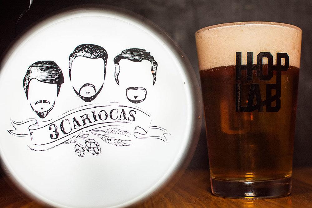 Cerveja 3Cariocas Lapa acompanha o prato principal (Foto: Divulgação)