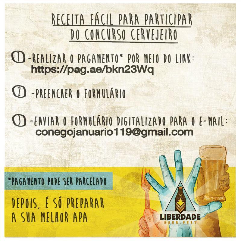 Concurso de Cerveja Caseira do Liberdade Beer Fest (Foto: Divulgação)