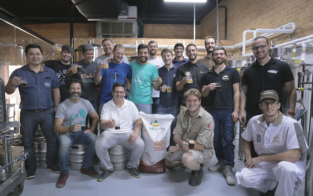 Brassagem reúne cervejeiros da serra fluminense (Foto: Gabriel Zambon/Divulgação)