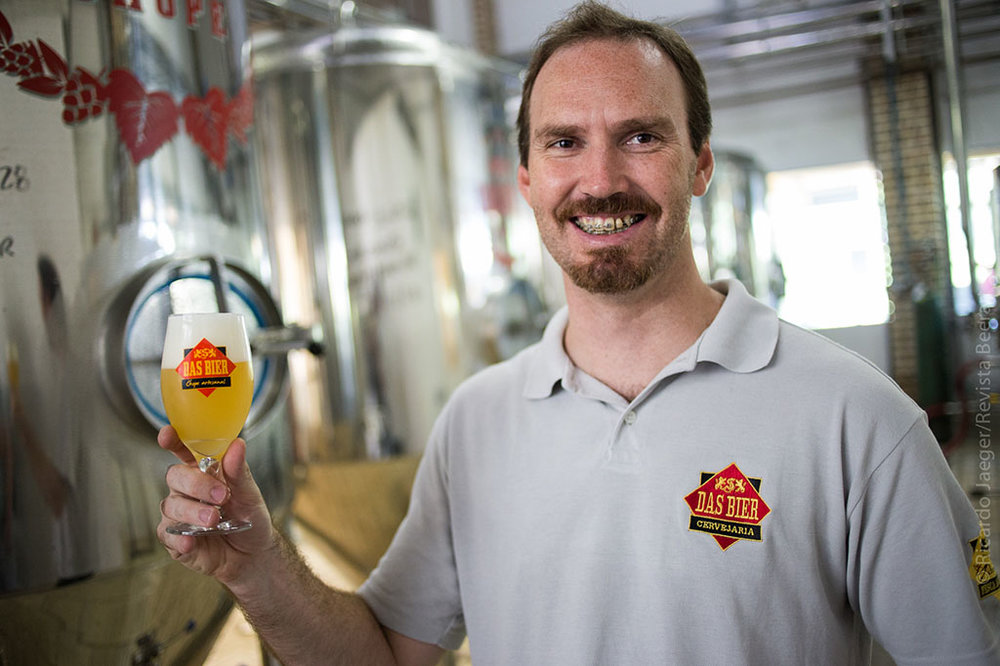 A perspectiva da cervejaria impôs uma guinada na trajetória profissional de Leandro (Foto: Ricardo Jaeger/Beer Art)