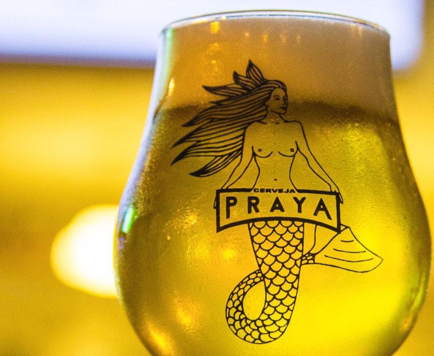 Nos dias 7 e 8 a cerveja carioca Praya leva o chope Witbier (Foto: Divulgação)