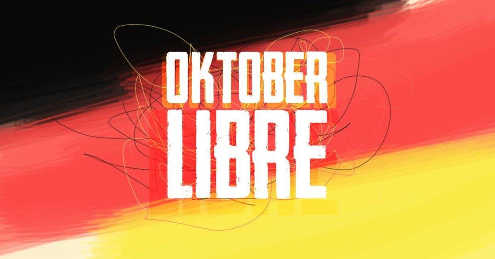 A Oktober Libre ocorre na tarde de 21 de outubro, sábado (Foto: Divulgação)