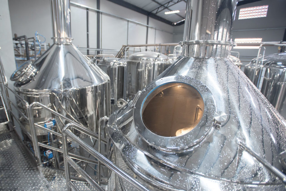 Por dentro da fábrica da Sunset Brew, em Tijucas/SC (Foto: Divulgação)