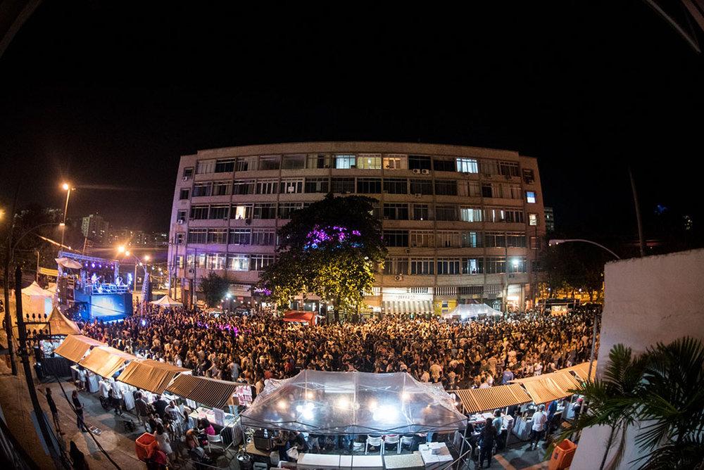 Para a festa, com entrada franca, a Rua Tubira será fechada (Foto: Diego Batista/Divulgação)