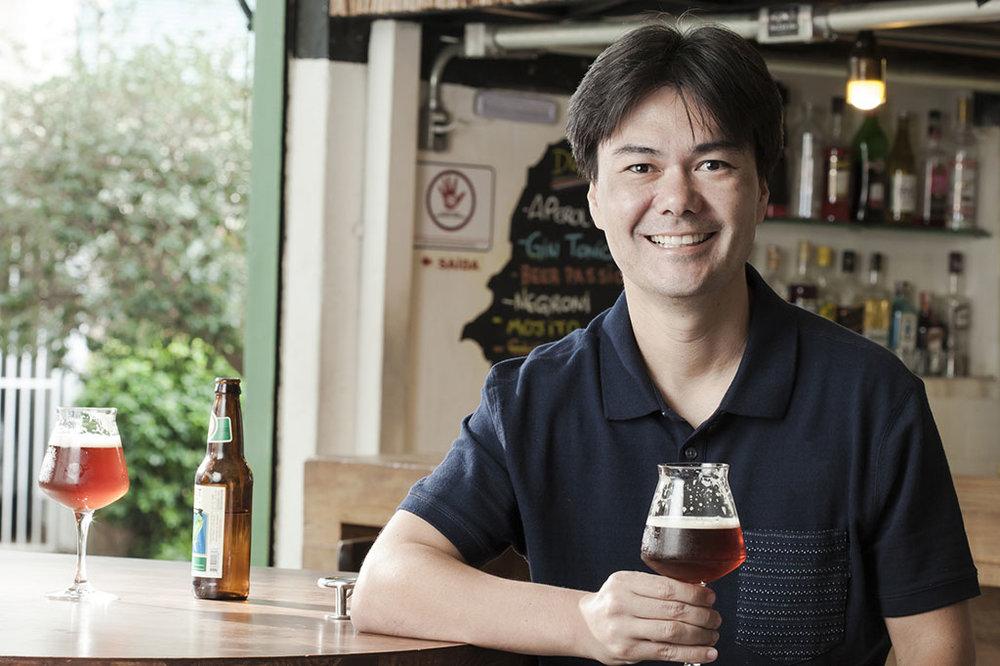 Rodrigo Sawamura, 40 anos, tem 15 anos de experiência no mercado cervejeiro, com atuação em diferentes papéis (Foto: Divulgação)