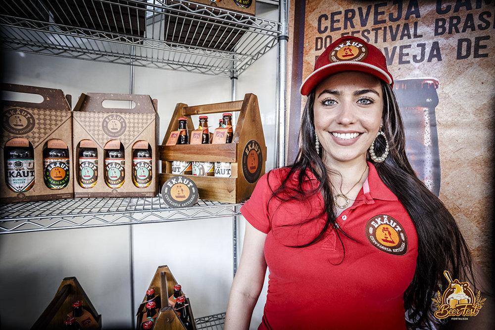 Ekäut, de Pernambuco, é uma das marcas de cerveja artesanal presentes (Foto: Nicolas Leiva/Divulgação)