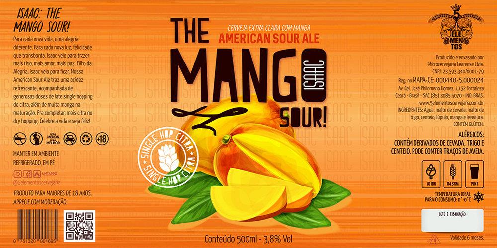 Isaac The Mango Sou! homenageia o filho de um dos sócios da 5Elementos (Foto: Divulgação)