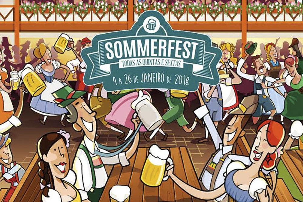 A Oktoberfest, a Sommerfest e o Festival Brasileiro da Cerveja se sucedem no mesmo parque, a Vila Germânica (Foto: Divulgação)