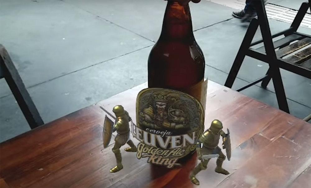 A tecnologia, combinada com app,está presente nos estilos Golden Ale, Red Ale e IPA (Foto: Divulgação)
