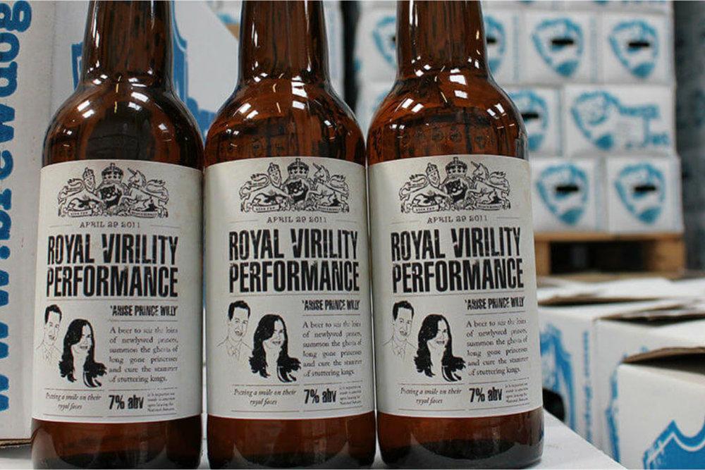 Cerveja escocesa com Viagra em sua composição tentou inspirar príncipe (Foto: Divulgação)