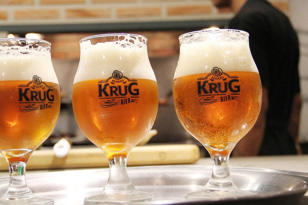 A Krug é uma das principais cervejarias de Minas Gerais (Foto: Divulgação)