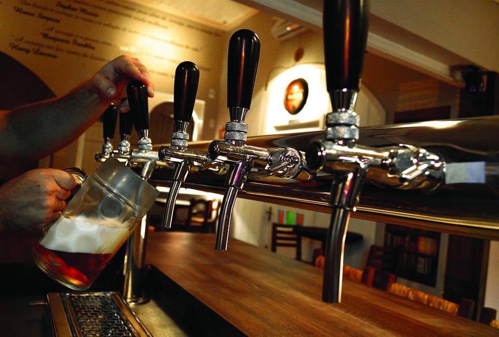 Pub na capital gaúcha, aberto em novembro de 2013, fez parte da expansão da marca de Santa Cruz do Sul (Foto: Divulgação)