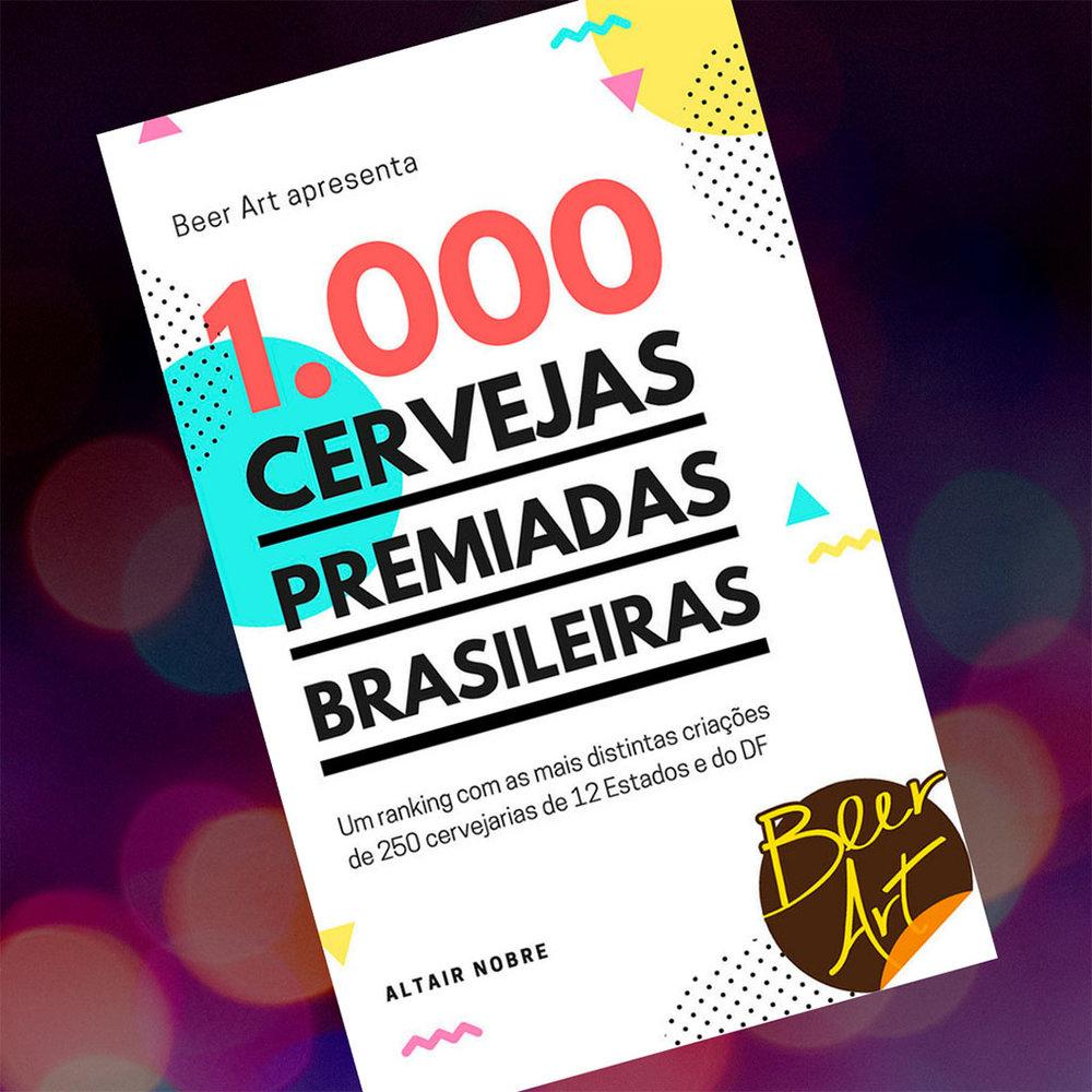 Livro 1.000 cervejas premiadas brasileiras