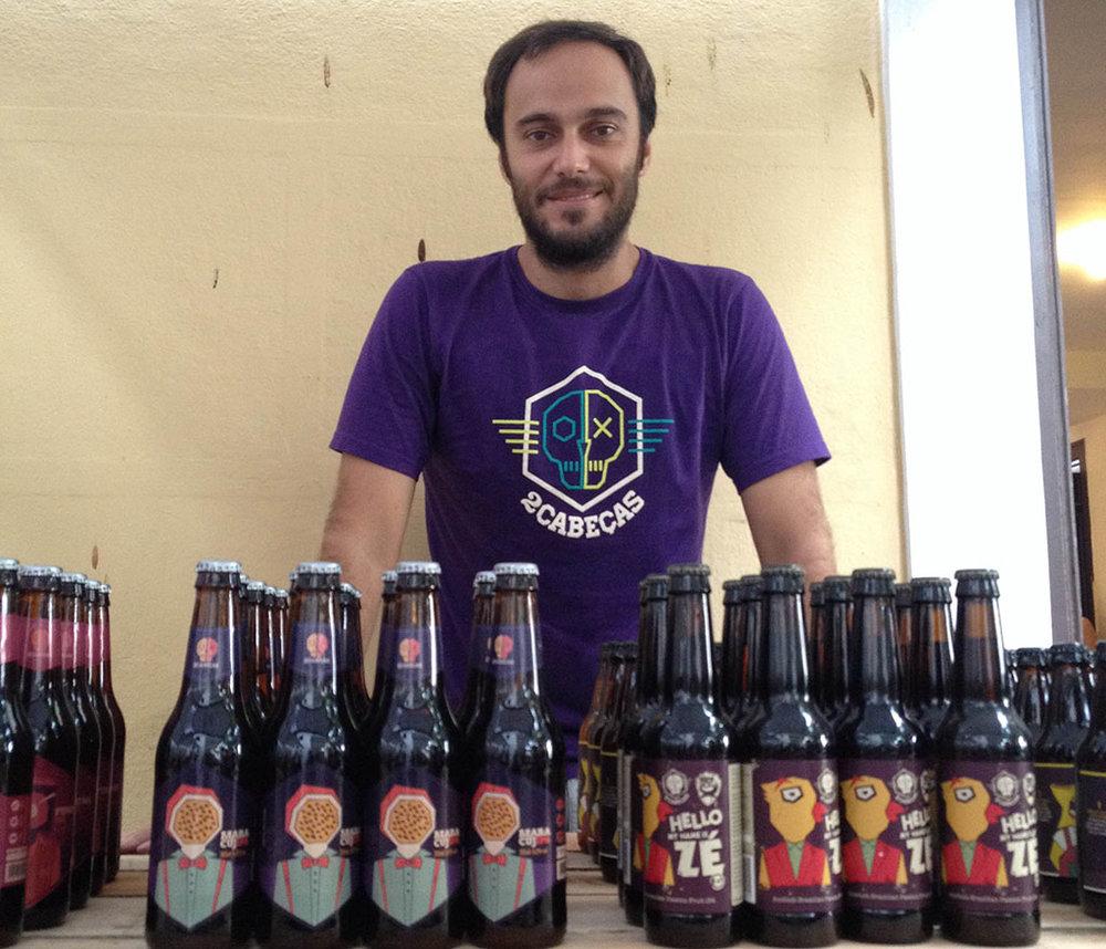 """""""É legal beber uma cerveja? Muito! Mas ter todo o trabalho de fazer também"""", entendeBernardo (Foto: Divulgação)"""