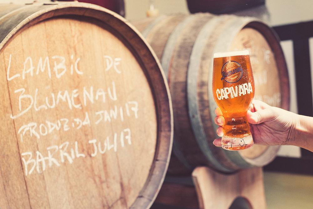 Além de rótulos já conhecidos, como a Capivara Little IPA, a Cerveja Blumenau terá experimentais no Festival Brasileiro da Cerveja (Foto: Daniel Zimmermann/Divulgação)