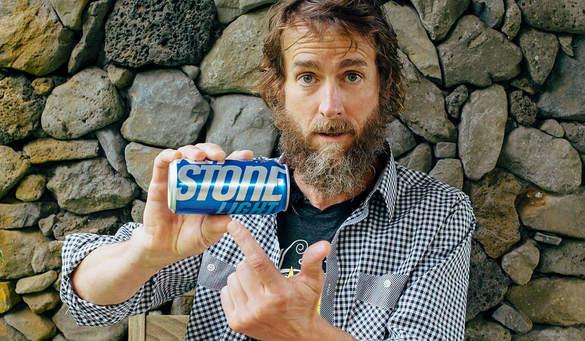 Greg Koch, da Stone Brewing, processa a MillerCoors por causa da apresentação da lata da cerveja Keystone Light (Foto: Reprodução)