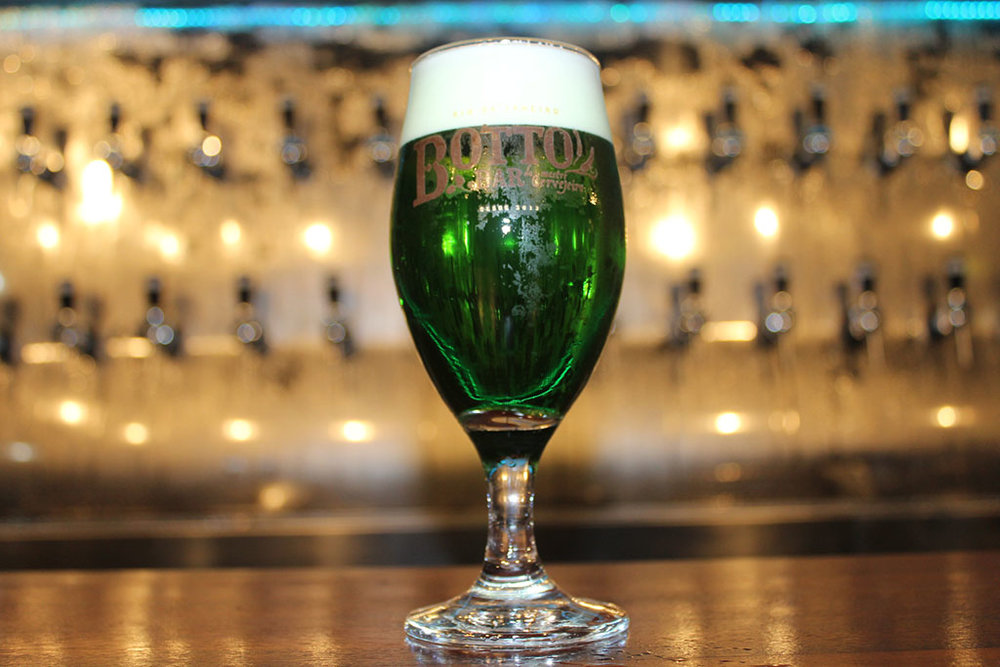 Chope verde é uma das marcas do Saint Patrick's Day (Foto: Divulgação)