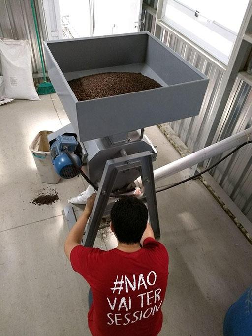 Para a Perfect Morning foram utilizados grãos de café maturados em barris de bourbon do Franck's Ultra Coffee