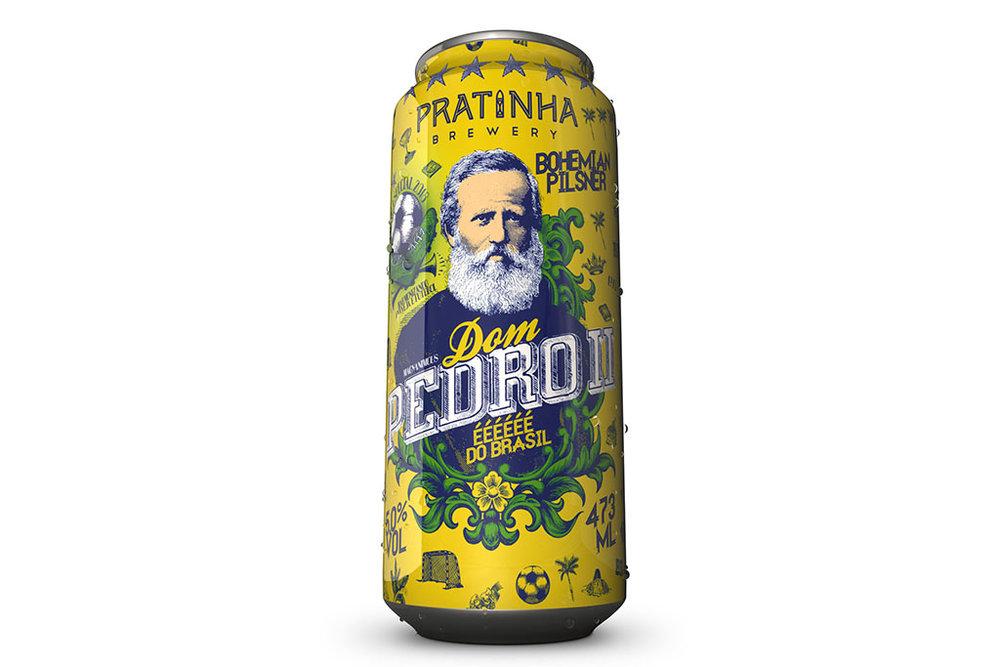 Dom Pedro II é uma cerveja refrescante, com uma combinação de lúpulos (Foto: Divulgação)