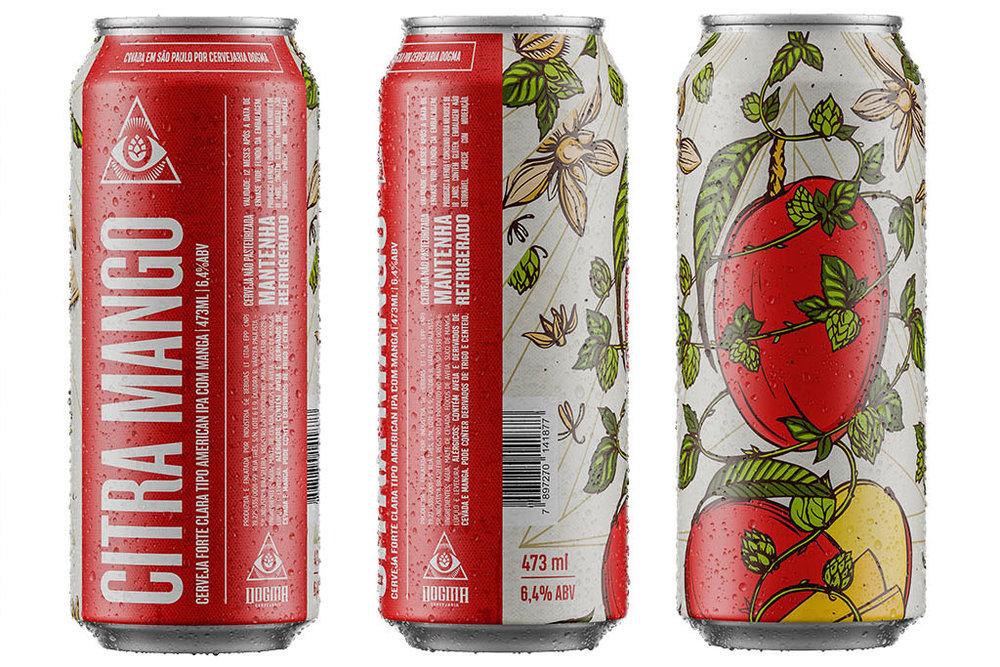A Citra Mango é uma IPA com alto drinkability, reforçado por notas