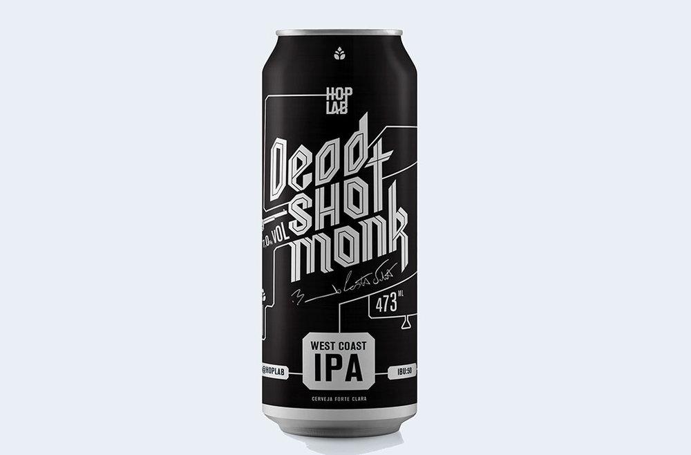 Hop Lab Dead Shot Monk tem 7% de teor alcoólico e amargor de 50 IBUs (Foto: Divulgação)