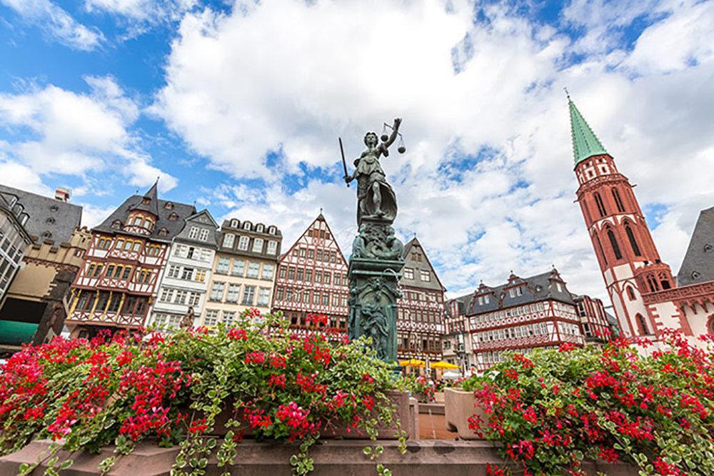 Frankfurt é o ponto de partida do cruzeiro fluvial (Foto: Divulgação)