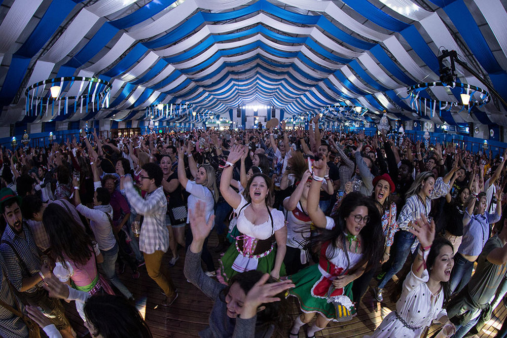 """O evento estreou em 2017, apresentando-se como a """"maior festa alemã de São Paulo"""" (Foto:Felipe Panfili/Divulgação)"""