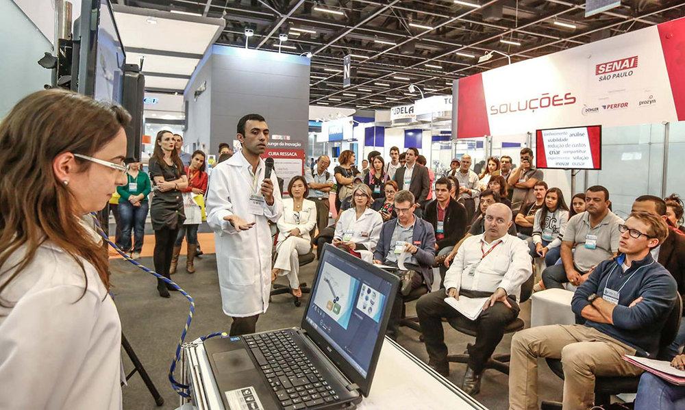 Parceria leva à feira inovações que os visitantes vão conhecer em primeira mão (Foto:Studio F/Divulgação)