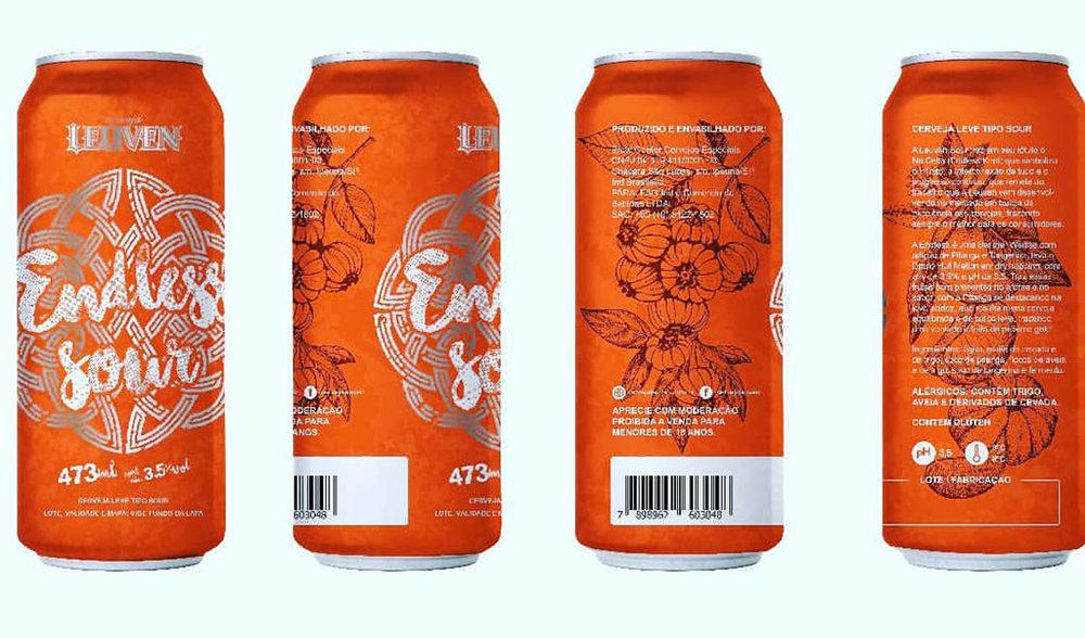 Endless Sour (foto) é a novidade na linha da Leuven, composta por cervejas premiadas com a Red Ale que conquistou medalha na World Beer Cup (Foto: Divulgação)