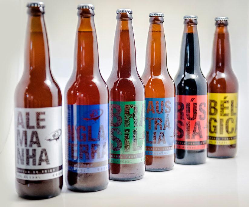 Países de tradição cervejeira, além da anfitriã, Rússia, inspiram a linha (Foto: Divulgação)