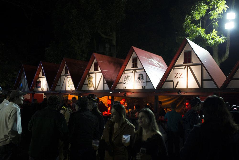 Cerveja artesanal da serra fluminense é uma das atrações da festa germânica em Petrópolis (Foto: Divulgação)