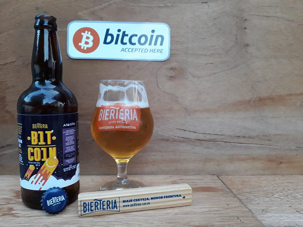 Nova cerveja da BierTeria é a primeira da linha das Criptomoedas (Foto: Divulgação)