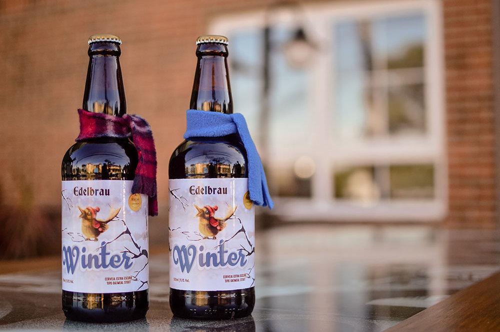 A combinação de aveia e malte de centeio confere um corpo aveludado à Winter (Foto: Divulgação)