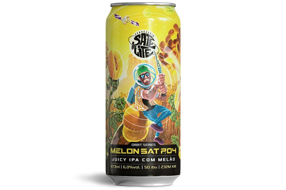 A Juicy IPA com melão tem 6% de teor alcoólico e amargor de 50 IBUs (Foto: Divulgação)